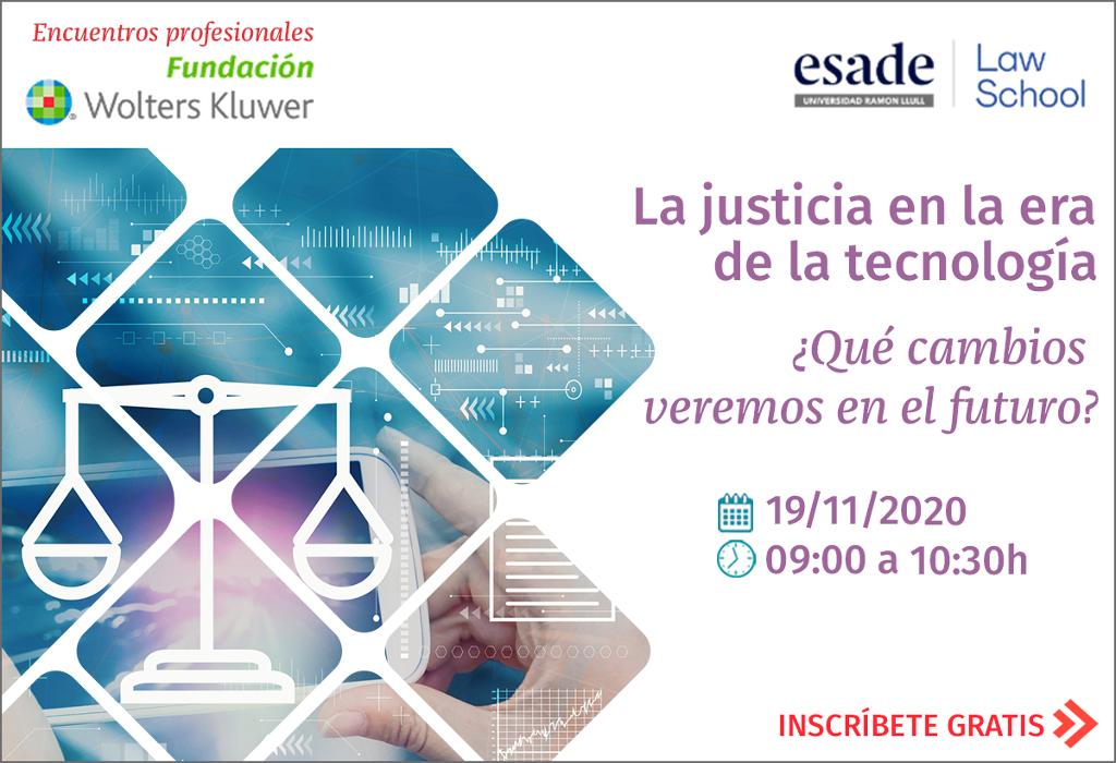 La Justicia en la era tecnológica