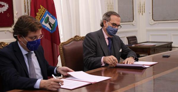 ICAM y el Ayuntamiento de Madrid firman un acuerdo de acciones en pro del interés general de la ciudadanía