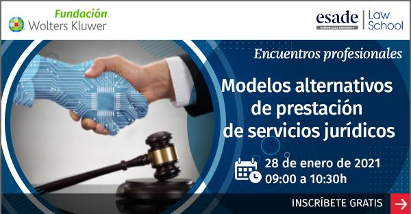 Encuentro online GRATUITO «Modelos alternativos de prestación de servicios jurídicos»