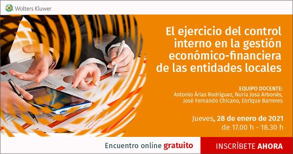 El ejercicio del control interno en la gestión económico-financiera de las entidades locales