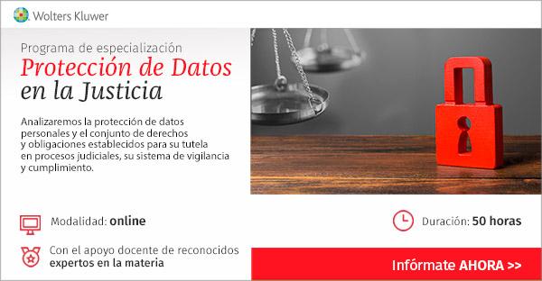 Programa de especialización «Protección de datos en la Justicia»