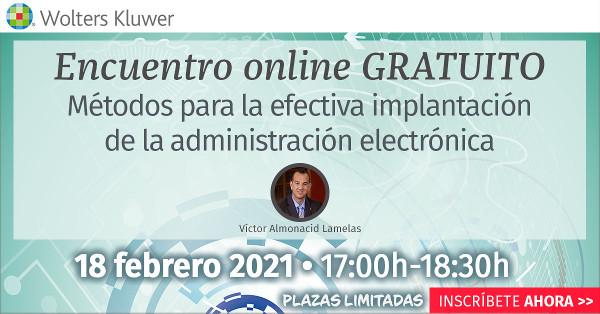 Métodos para la efectiva implantación de la administración electrónica