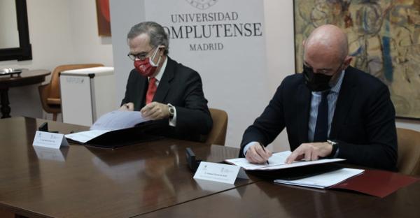 El ICAM y la Universidad Complutense de Madrid firman un convenio de colaboración para impulsar la formación de acceso a la abogacía
