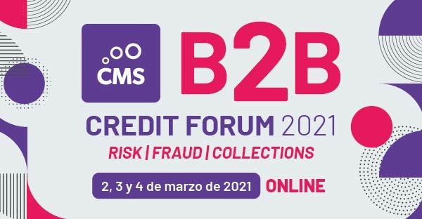 Las mejores prácticas en gestión de riesgo, fraude y recuperaciones de crédito PYME a examen en el «B2B Credit Forum 2021»