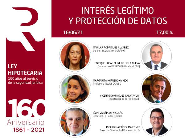 Webinar «Interés legítimo y protección de datos»