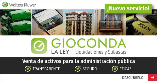Wolters Kluwer lanza un nuevo servicio para la Administración Pública a través de su plataforma de Liquidaciones y Subastas GIOCONDA LA LEY