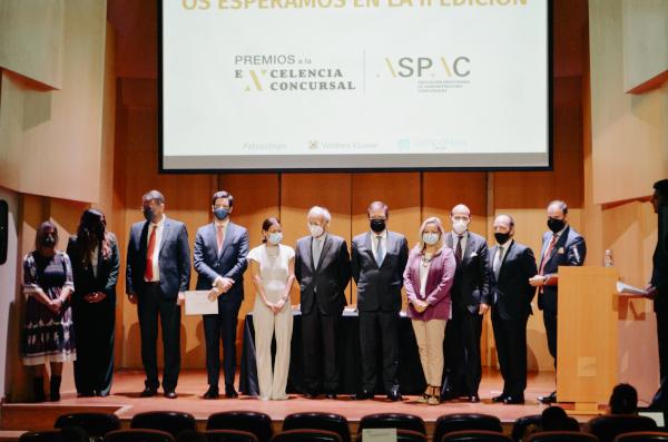 Los Administradores Concursales reivindican su profesión en los I Premios a la Excelencia Concursal