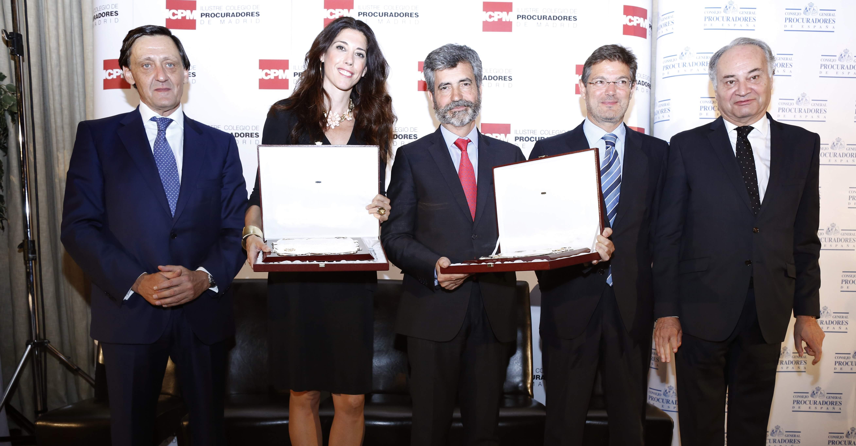 Gabriel María de Diego, Carlota Castresana, Carlos Lesmes, Rafael Catalá y Juan Carlos Estévez