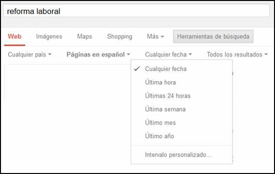La búsqueda legal en Google y en Noticias Jurídicas: técnicas y consejos