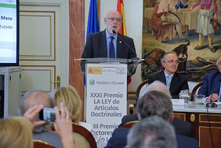 El Fiscal General del Estado José Manuel Maza