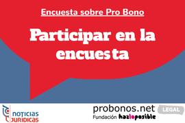 Encuesta Pro Bono Legal