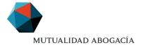 Nuevo logotipo de la Mutualidad de la Abogacía