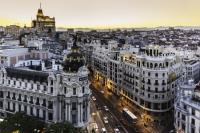 Vista de Madrid desde la Gran Vía