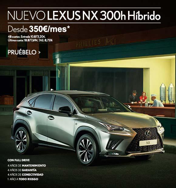 Nuevo Lexus NX 300h H�brido